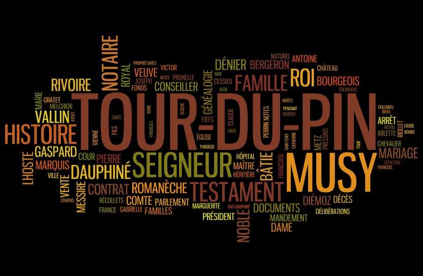 Documents historiques sur la Tour-du-Pin en Dauphiné