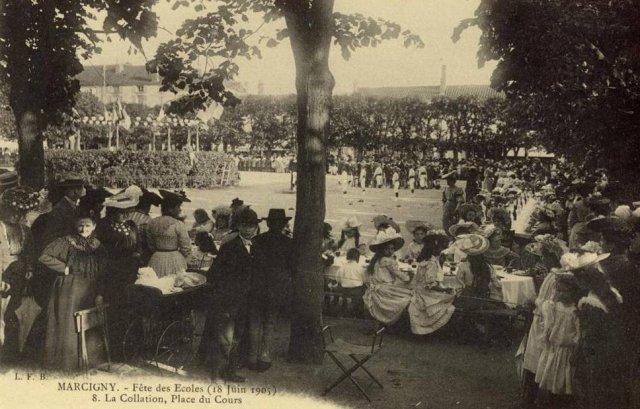 Cartes postales anciennes de Marcigny - diaporama