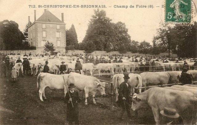 Cartes postales anciennes de St-Christophe-en-Brionnais