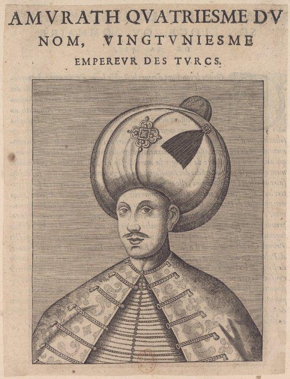 Amurat IV sultan de l'Empire ottoman