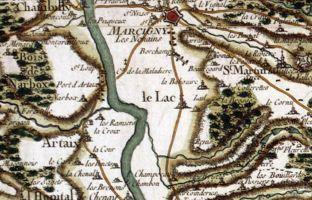 La Loire près du port d'Artaix (71)