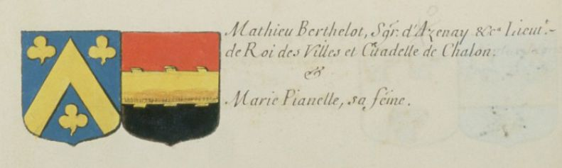 Armoiries de Charles d'Hozier