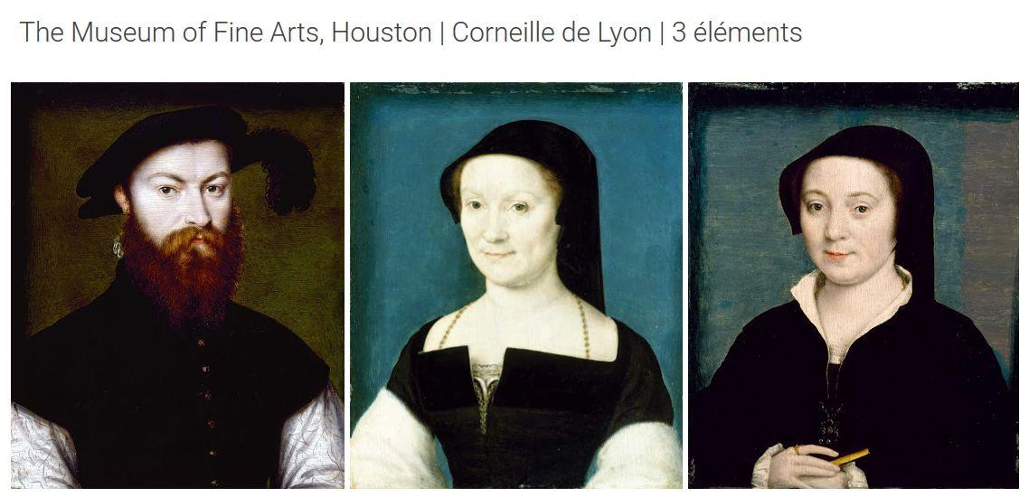 Famille de René de Baternay