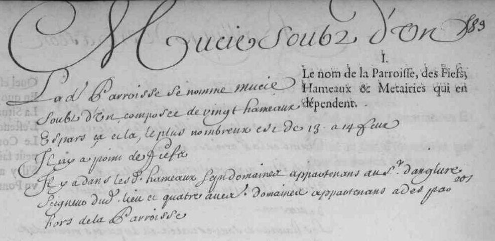 Mussy-sous-Dun en 1666