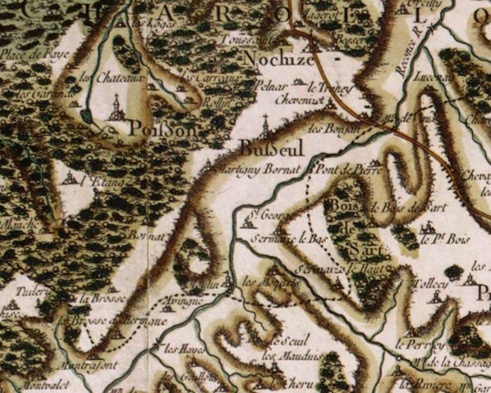 Ancienne paroisse de Busseul