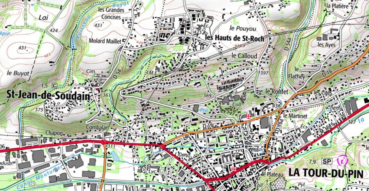 Ancienne paroisse de Chuzin, La Tour-du-Pin