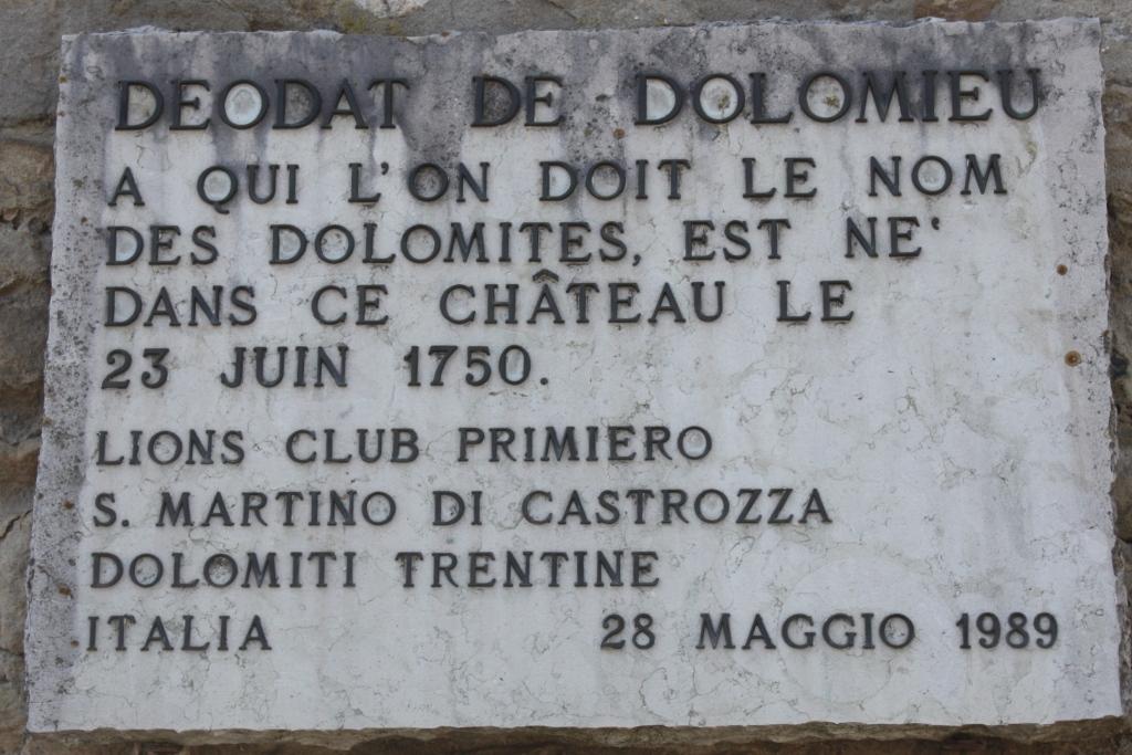 Dolomieu et dolomites