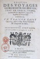Relation des voyages de Monsieur de Brèves, François de Savary