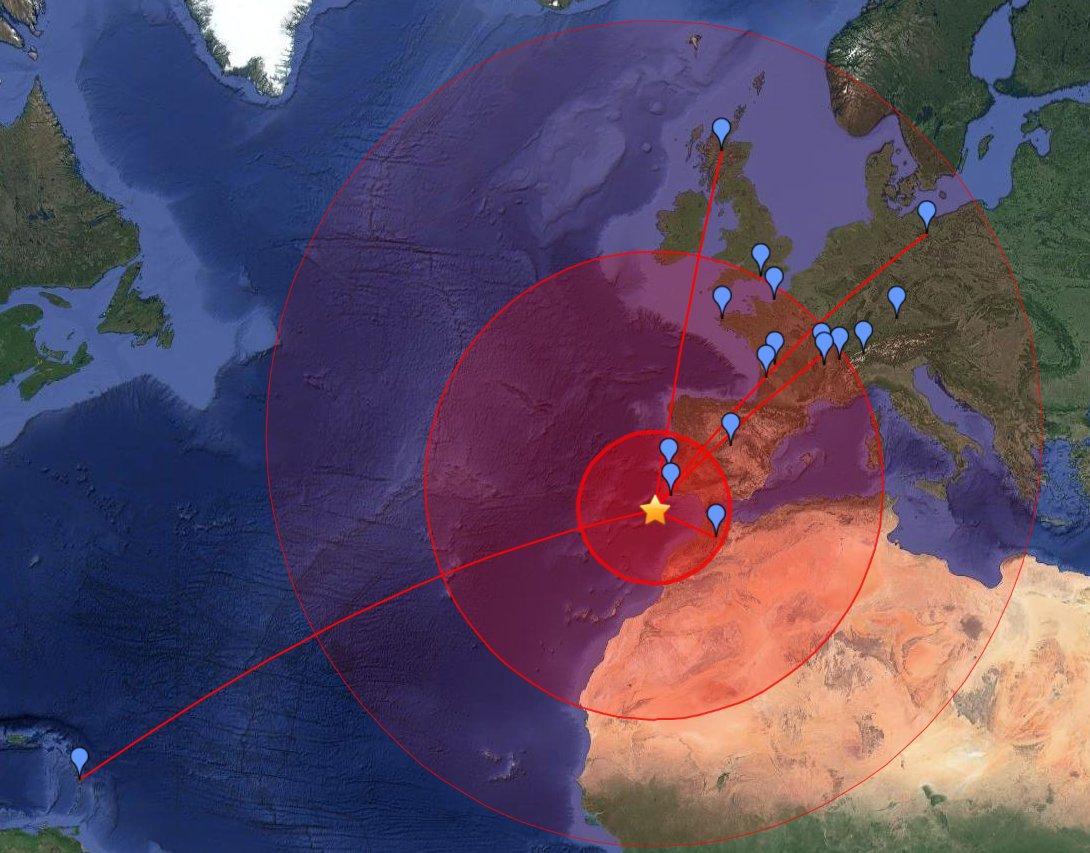 Le grand tremblement de terre de Lisbonne en 1755