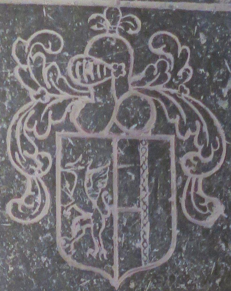 Blason de la tombe des Gratet