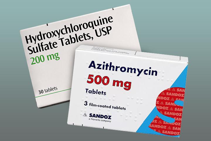 Traitement hydroxychloroquine + azithromycine contre la Covid-19 - Hydroxychloroquine + azithromycin treatment against COVID-19
