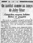 Le Matin, 20 décembre 1914
