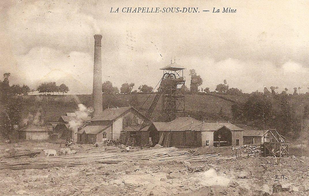 Mine de La Chapelle-sous-Dun