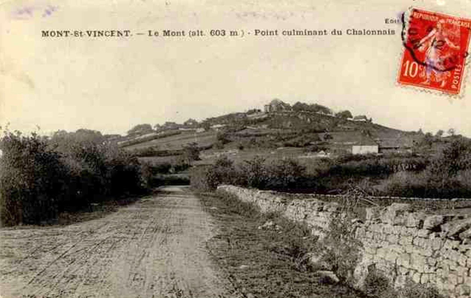 Mont-Saint-Vincent, Charolais, 603 mètres