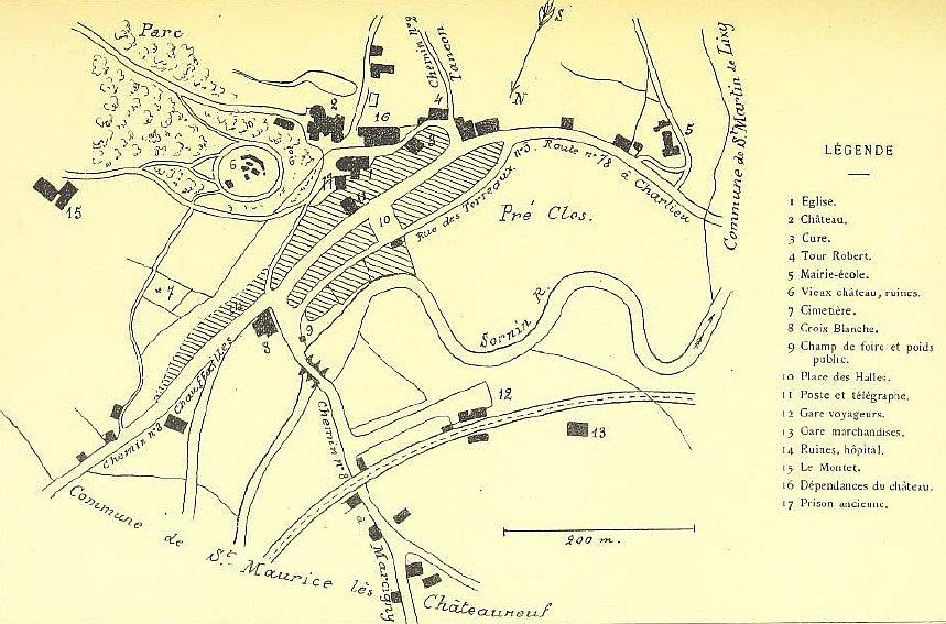 Plan de Châteauneuf
