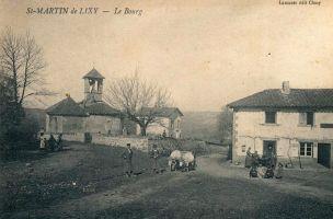 Le Bourg de Saint-Martin-de-Lixy
