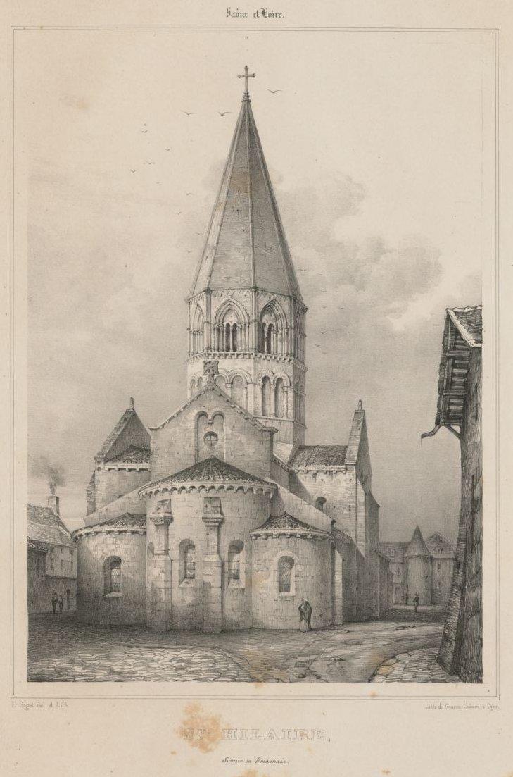 Église Saint-Hilaire de Semur-en-Brionnais
