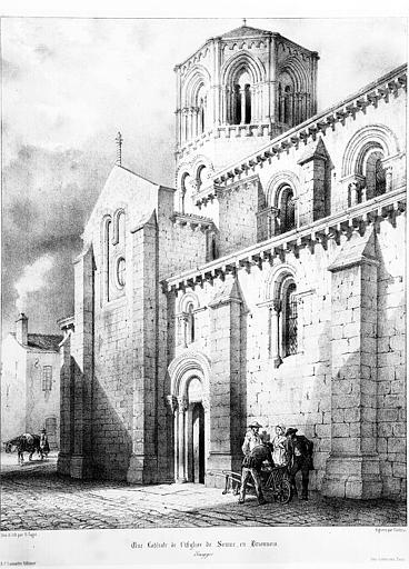 Église Saint-Hilaire, Semur-en-Brionnais