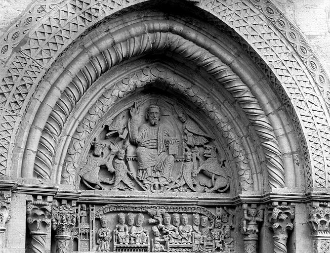 Église Saint-Hilaire de Semur-en-Brionnais, portail