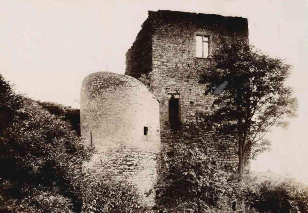 Château de Semur en 1900 (FMD)