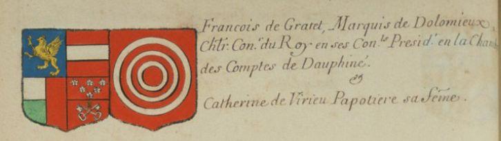 Armorial de Charles d'Hozier