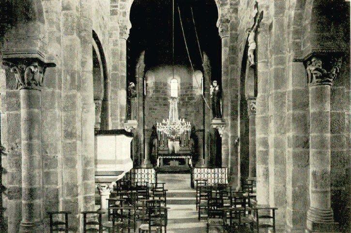 Intérieur de l'église de Bois-Ste-Marie