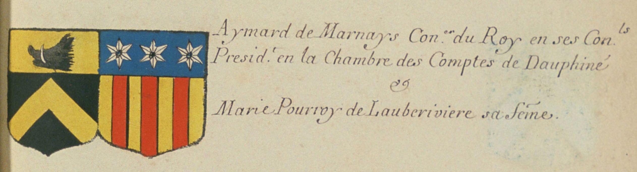 blason Pourroy de Quinsonnas-2