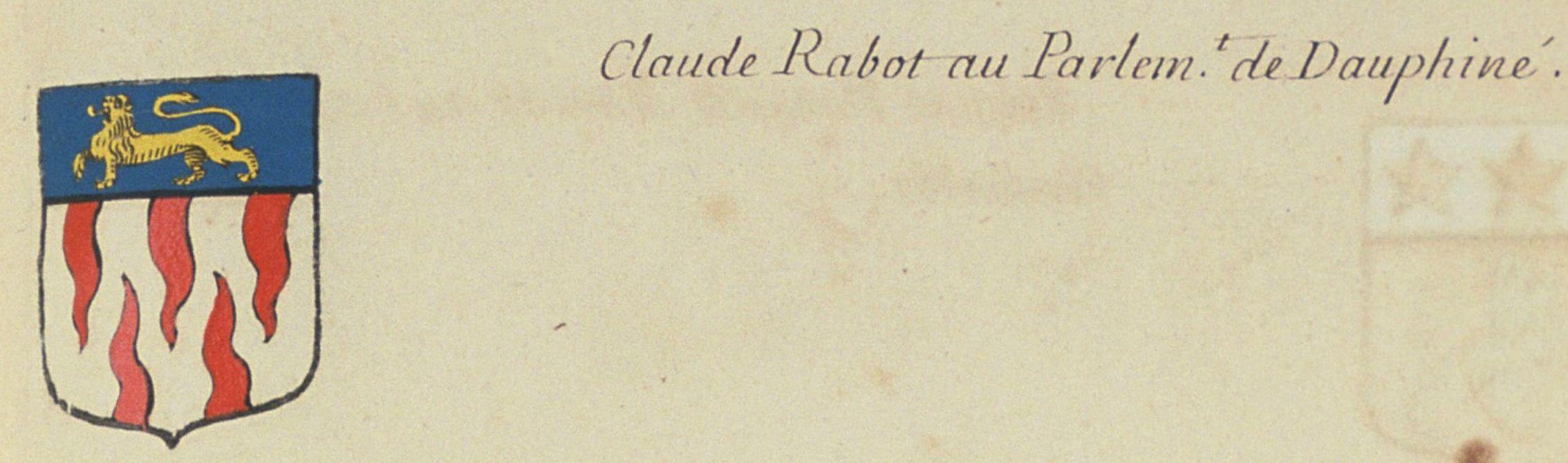 Blason des Rabot