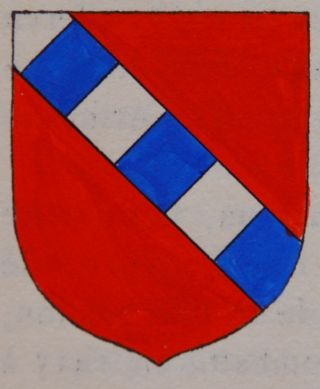 Blason des de Vallin