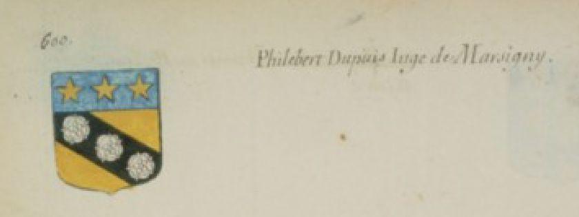 Philibert Dupuis juge de Marcigny