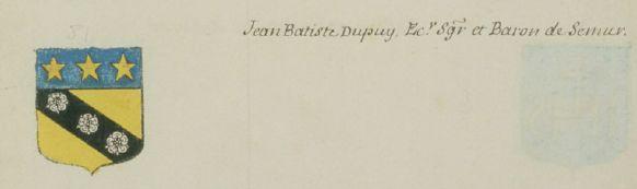 Jean Baptiste Dupuy de Semur-en-Brionnais