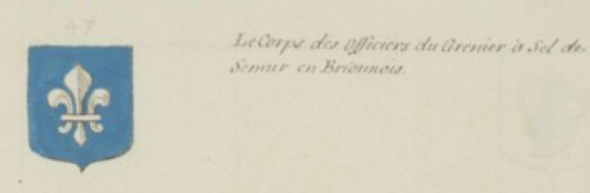 Officiers du bailliage de Semur en Brionnais