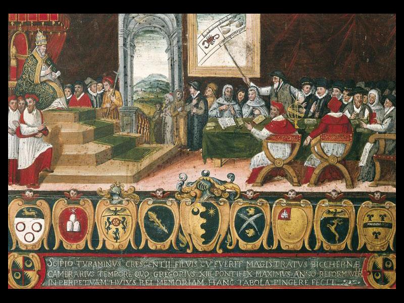 Grégoire XIII et la commission de réforme du calendrier