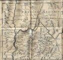 Carte du Dauphiné établie en 1710 par Guillaume Delille