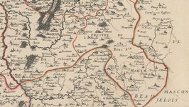 Carte du Sud-Brionnais