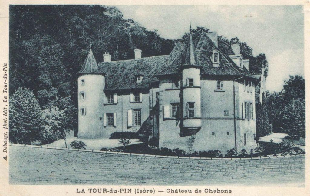 Château de Châbons, La Tour-du-Pin