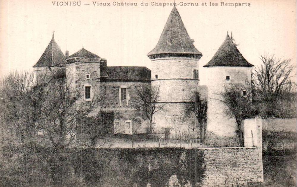 Château de Chapeau-Cornu à Vignieu (38)