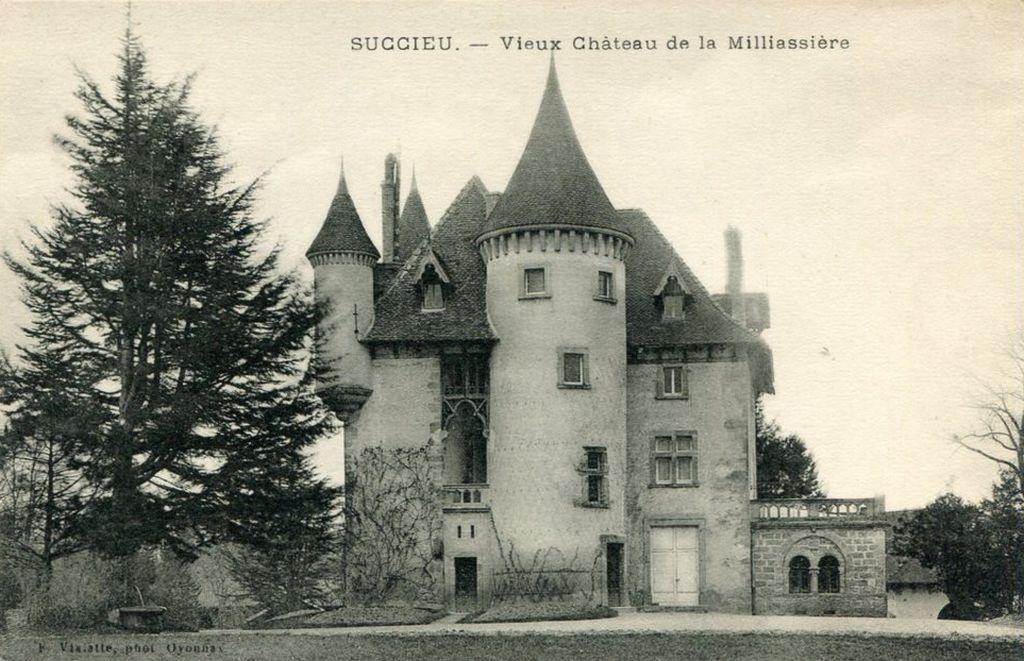 Château de Milliassière à Succieu