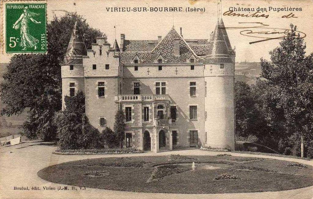 Château de Pupetières à Châbons