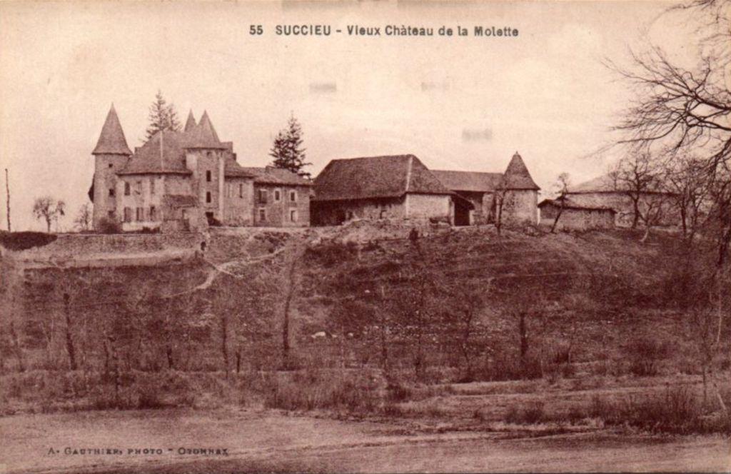 Château de La Molette à Saint-Victor-de-Cessieu