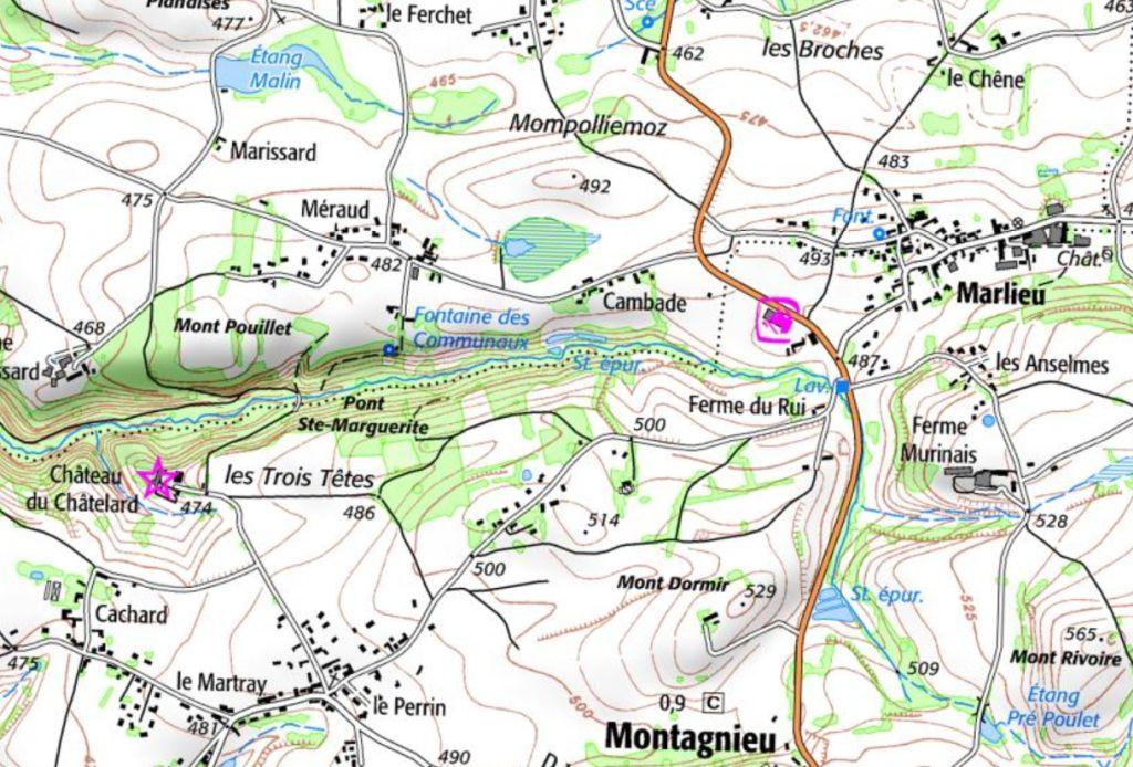Ch. du Chatelard à Montagnieu (38)
