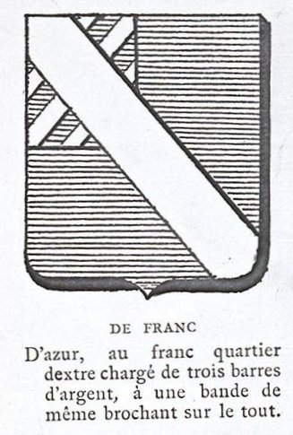 Armoiries des de FRANC
