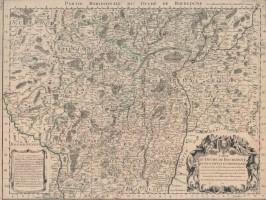 Carte du Duché de Bourgogne