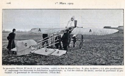 Monoplan Blériot XI