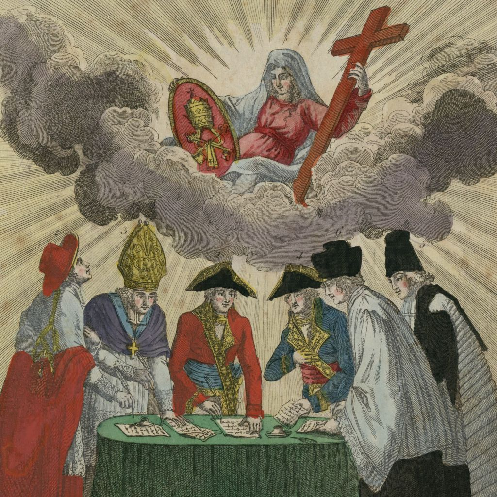 Signature du Concordat en 1801 - BnF-Gallica