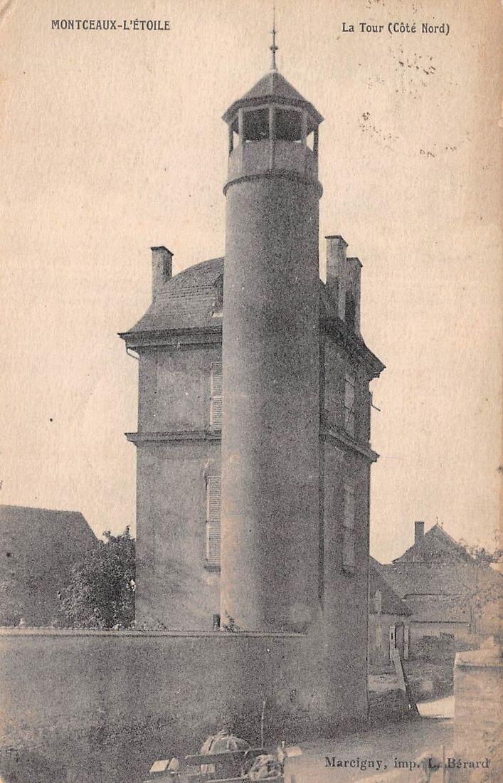 Tour de Montceaux-l'Étoile vue du côté Nord
