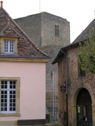 Restauration du château St-Hugues de Semur-en-Brionnais