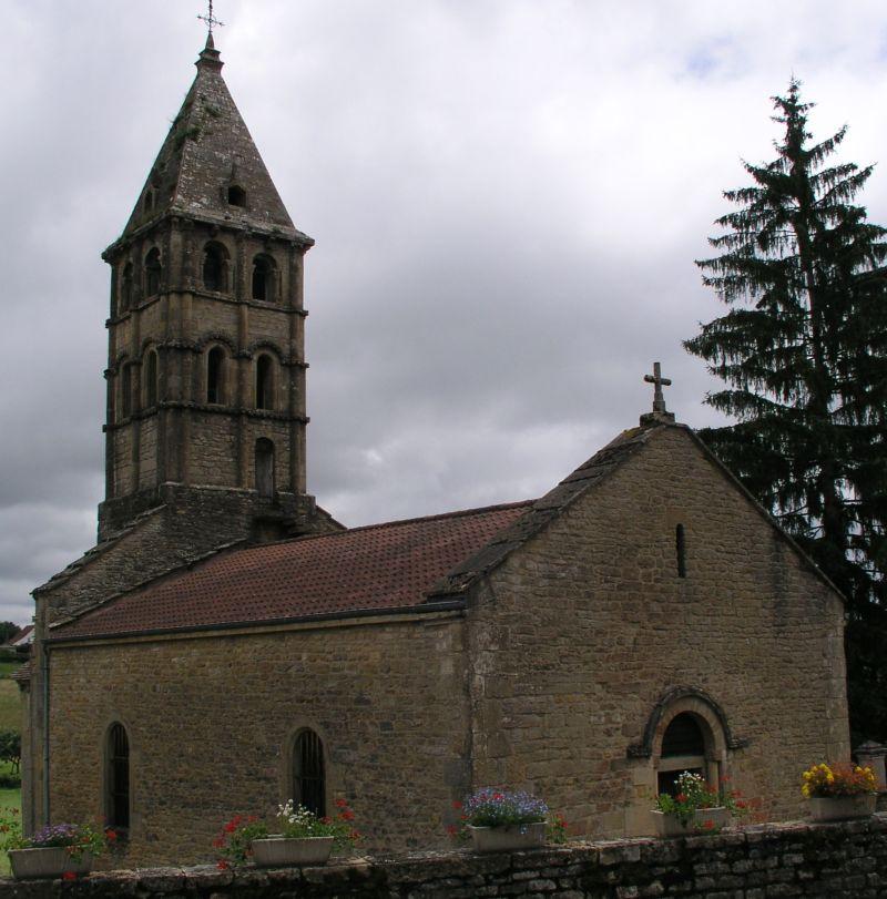 Église romane de Vareilles 1