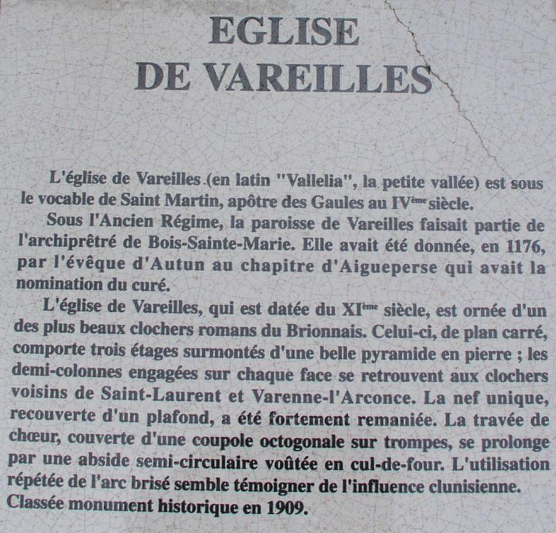Église romane de Vareilles 3
