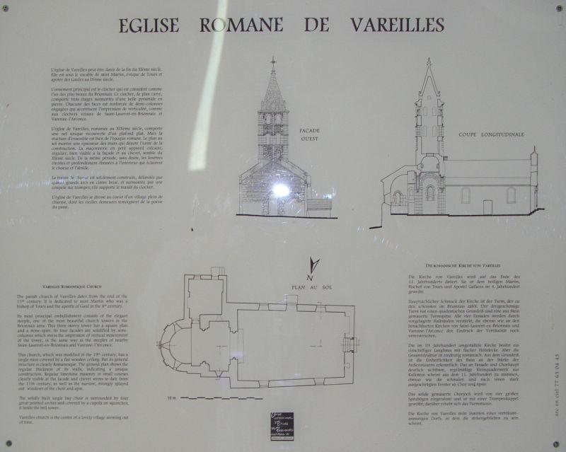 Église romane de Vareilles 4